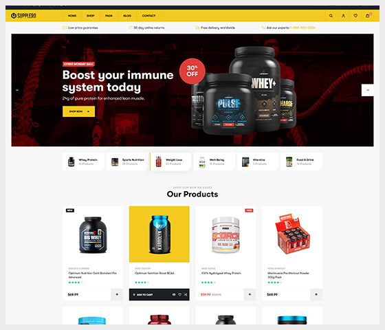 ldp home 1 | Supplement Store BodyTech